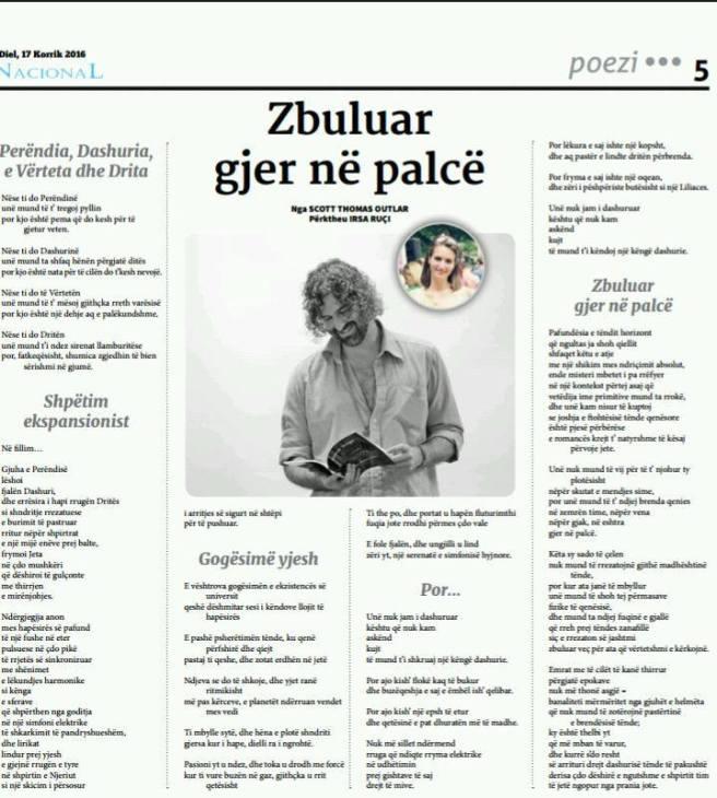 361 Nacional - 5 poems translated by Irsa Rucci