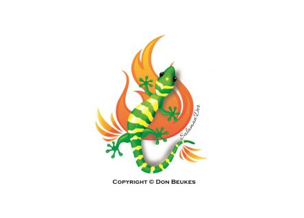 Don Beukes - salamander logo 2
