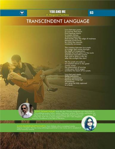Transcendent Language (You and Me anthology)