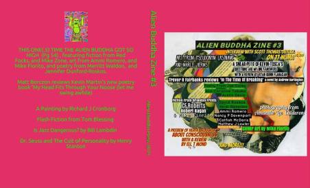 Alien Buddha Press zine issue 3 cover