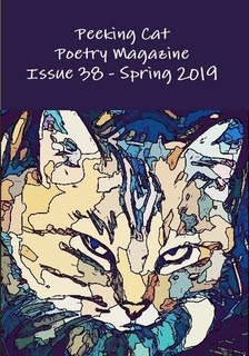 Peeking Cat Poetry Magazine issue 38 cover