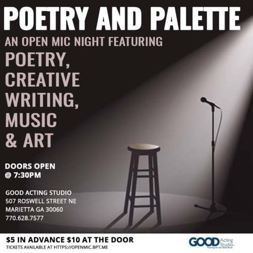 Poetry & Palette - Good Acting Studio - March 23, 2019