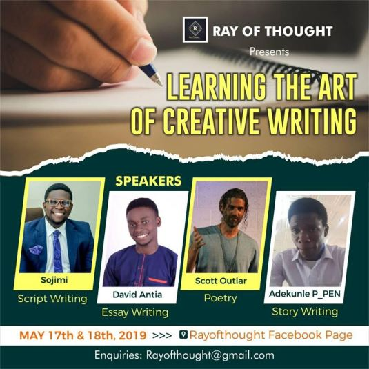 Ray of Thought - The Art of Writing Class