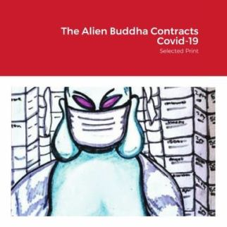 Alien Buddha Press Contracts Covid 19 cover